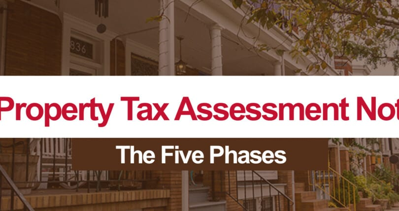 Maryland Property Tax Assessment Notices