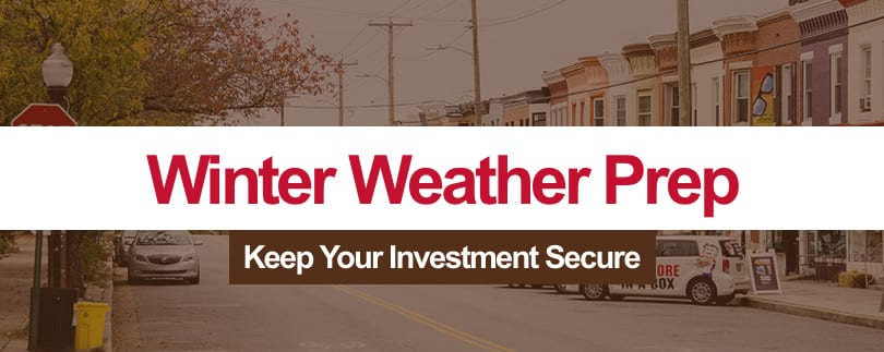 Winter Weather Preparation for Property Investors