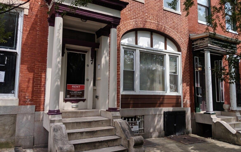 7 S Broadway: 5 Renovated Lead-Free Apartments near Hopkins