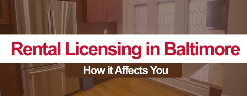 Baltimore City's New Rental Licensing Law