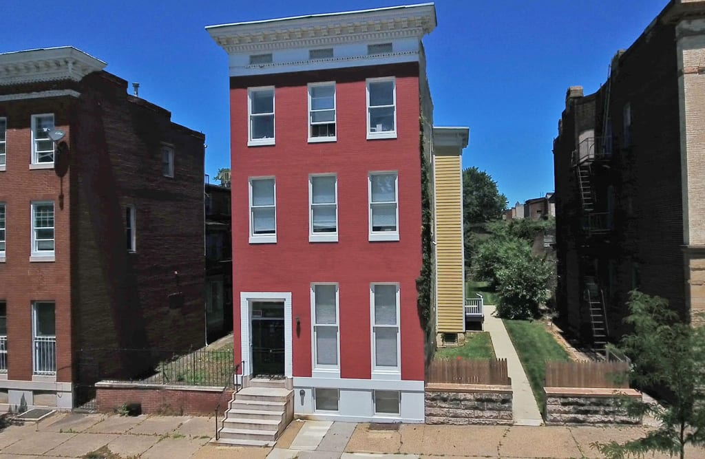 1106 W Lafayette Ave – Totally Rehabbed 100% Leased 7-Unit