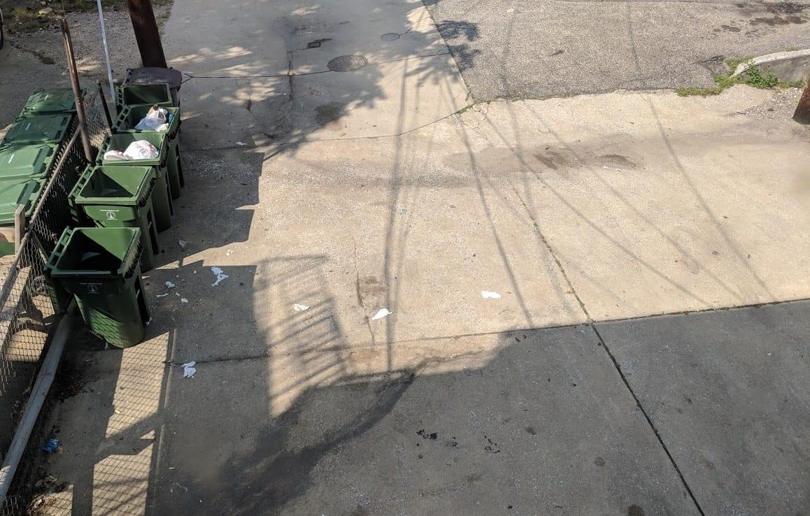 rear parking pad