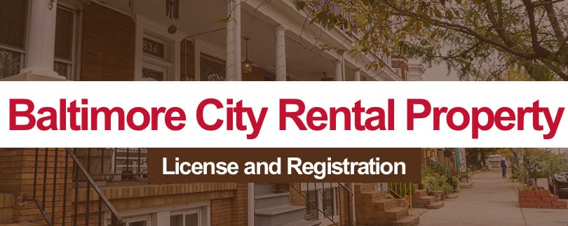Baltimore City Rental Property License and Registration – How to Register