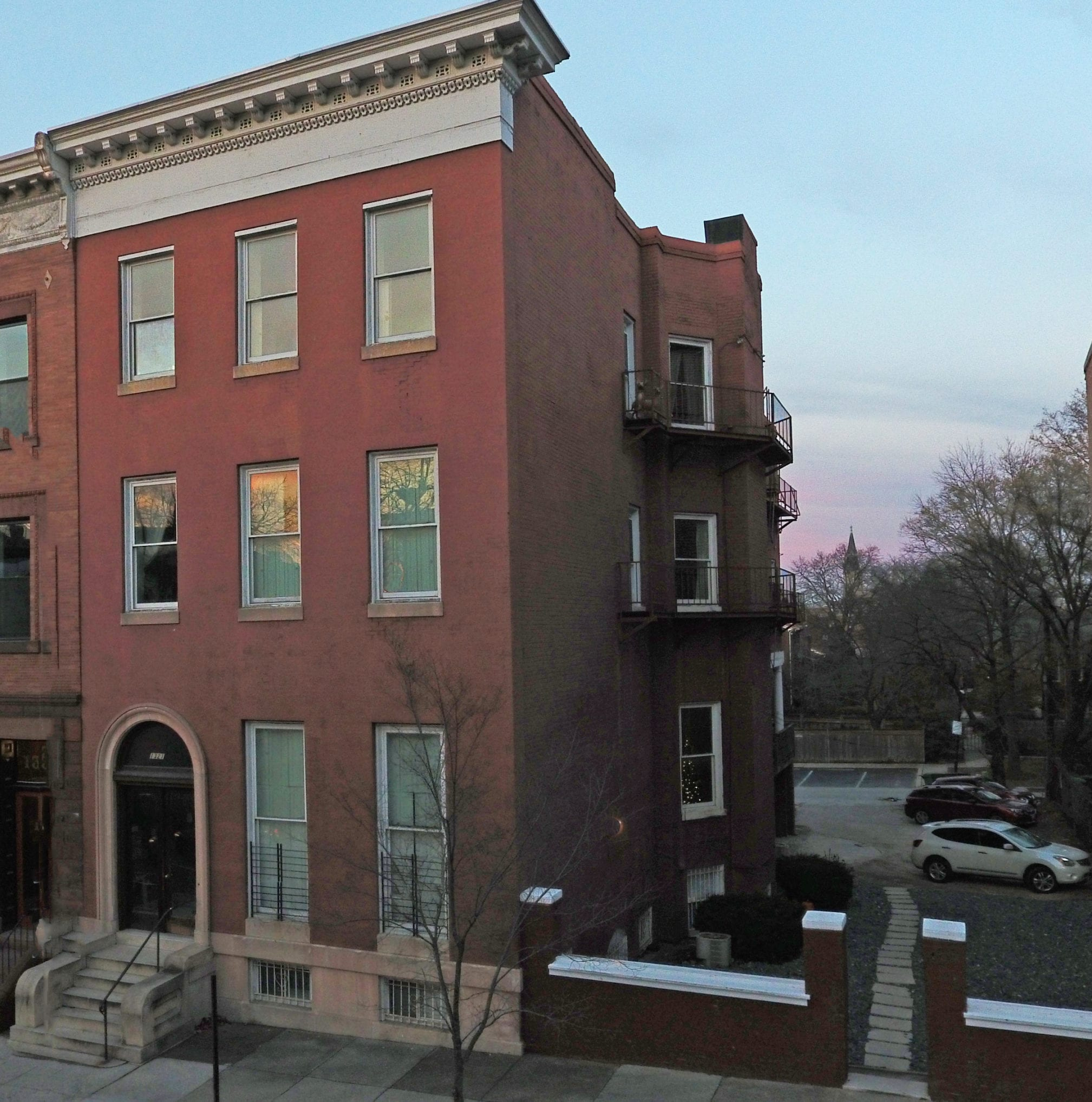1321 Eutaw Place: Huge Historic Mansion – 7 Apts Near MICA