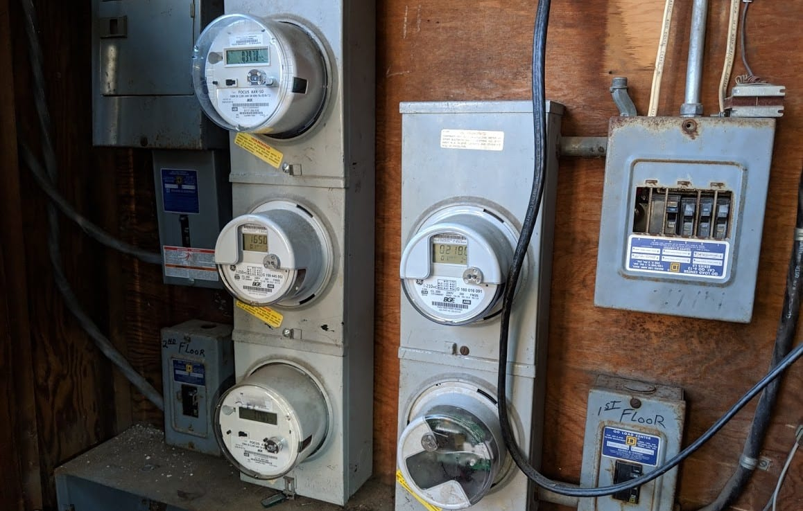 electric meters