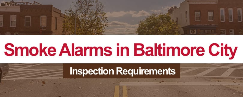 Smoke Alarms in Baltimore City Rental Property