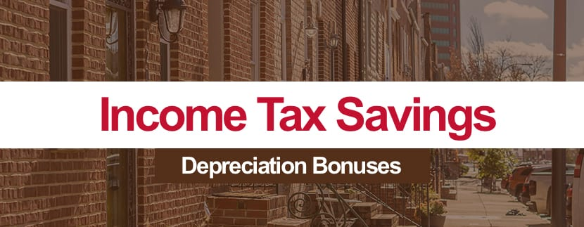 Income Tax Savings: Take Advantage of Bonus Depreciation