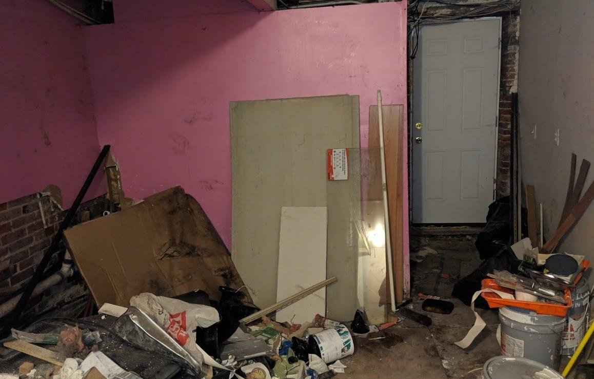rear basement