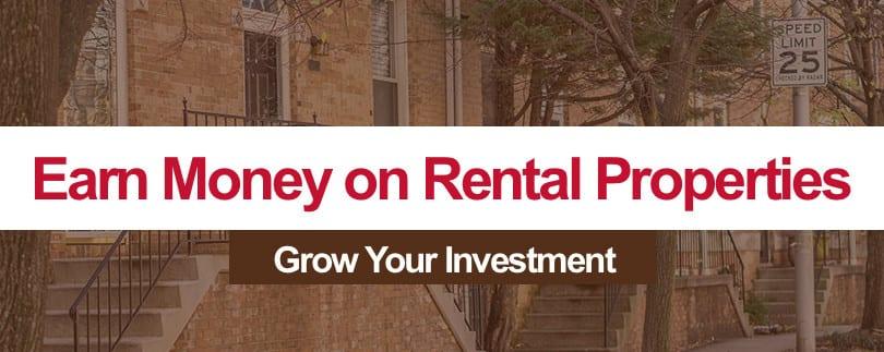 4 Ways to Earn Money on Rental Properties in Baltimore