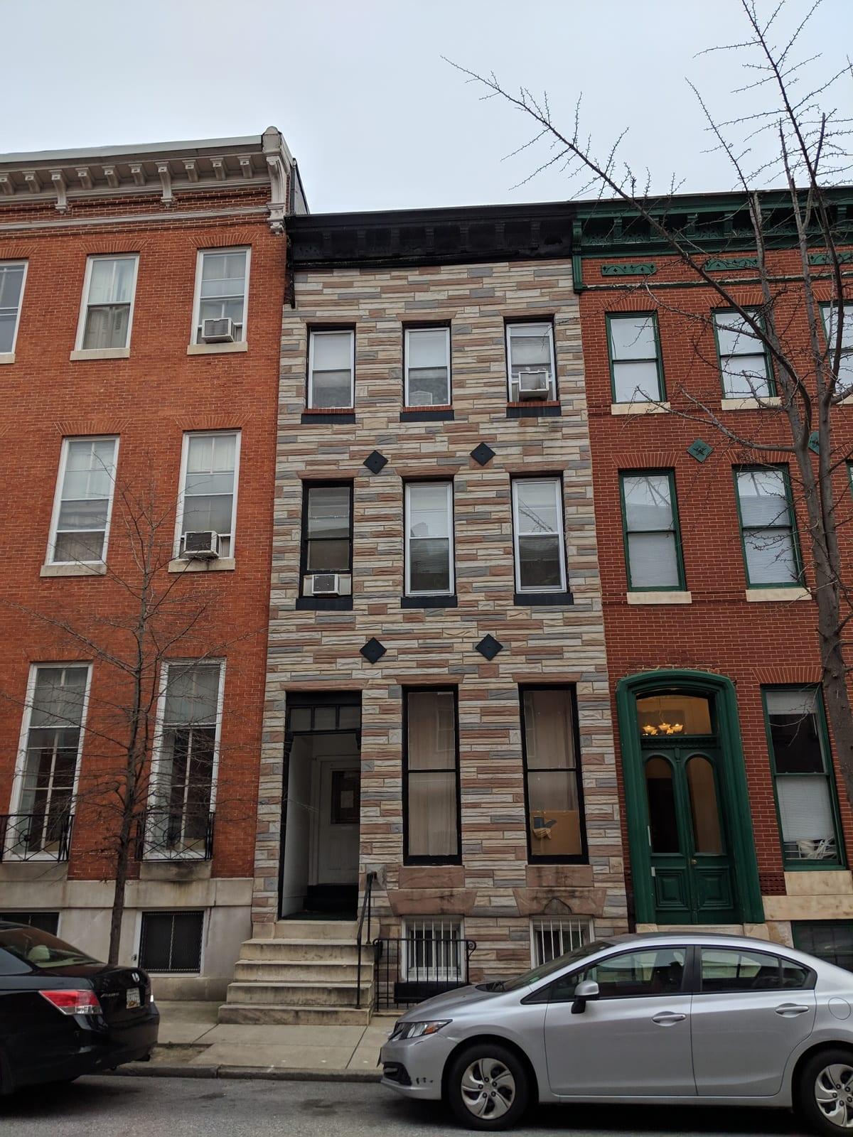 911 N. Calvert St:  Mount Vernon 4 Unit Apartment Property