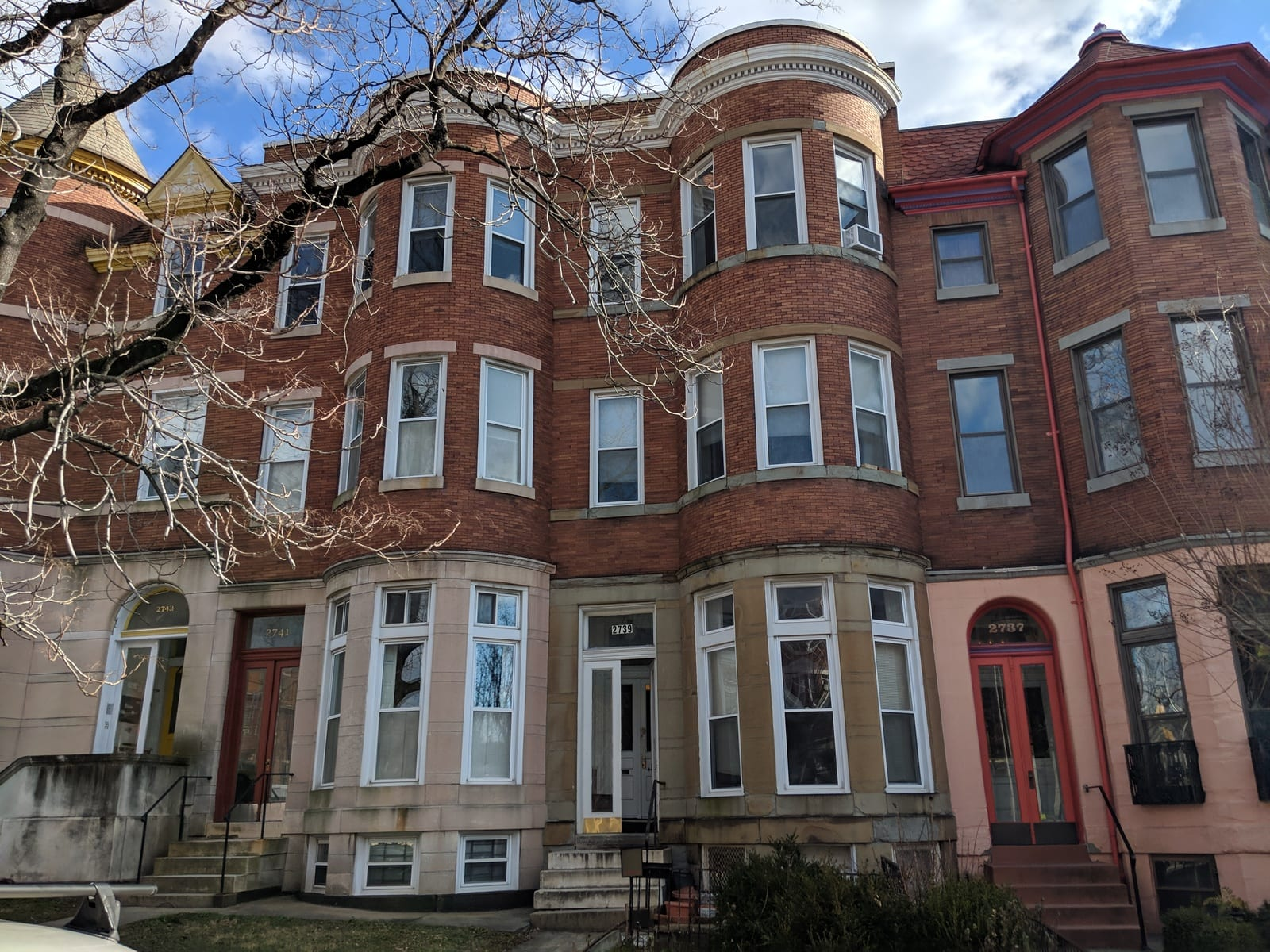 2739 Saint Paul Street:  4 Apartments on a Great Block!
