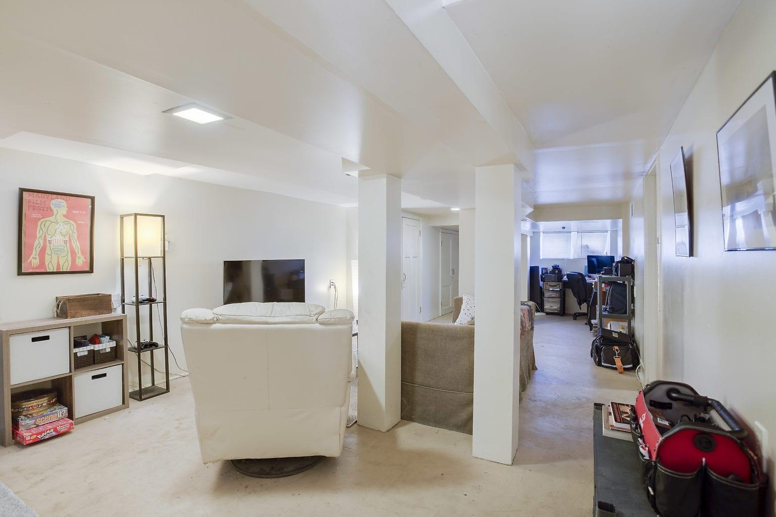 40 Basement Living Area