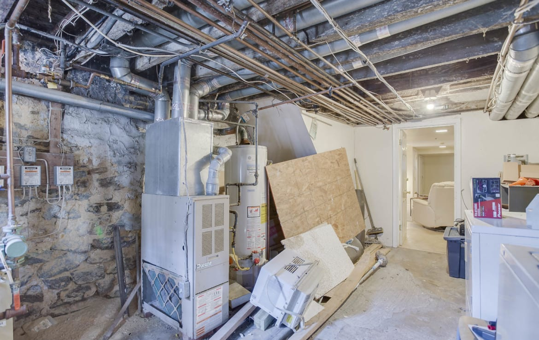 basement furnace