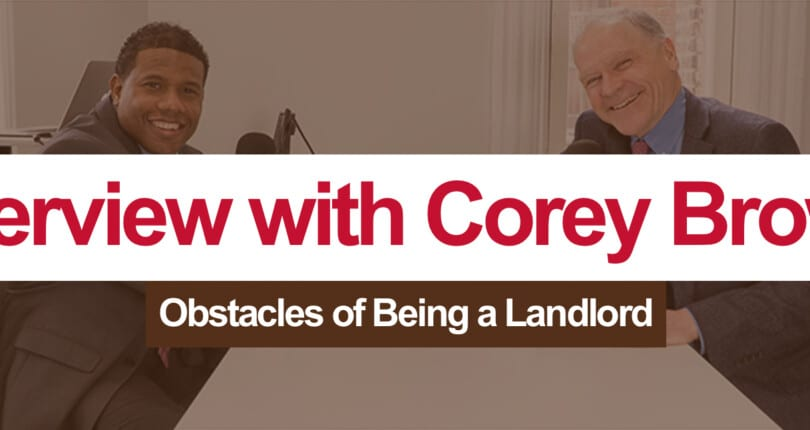 Corey Brown:  Baltimore Property Manager Discusses Landlord Challenges