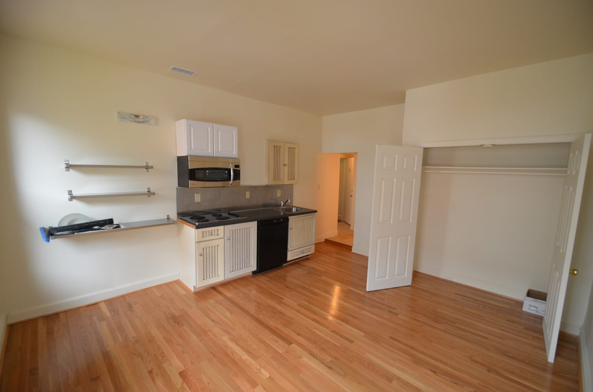 3210 N. Calvert ~ Bright, 1 Bedroom with Private Porch backs to Charles Commons