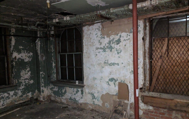 basement rear