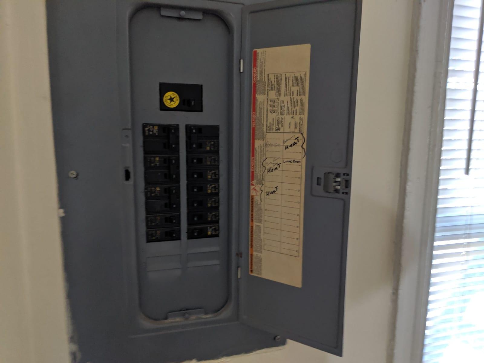 79 617 Paca 4 Electric Panel