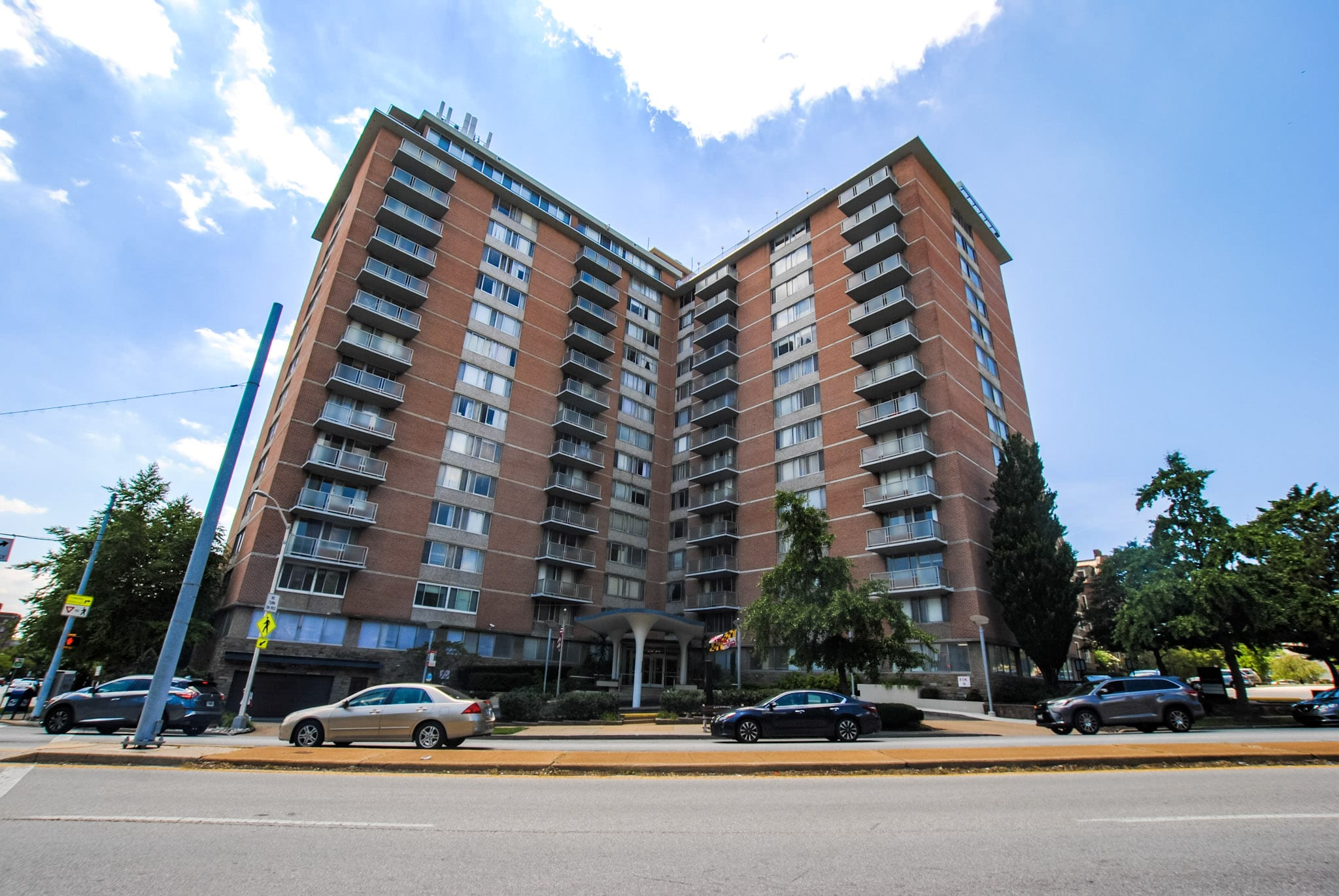 University One Condominium: Two Bedroom Penthouse Suite Next to Johns Hopkins University