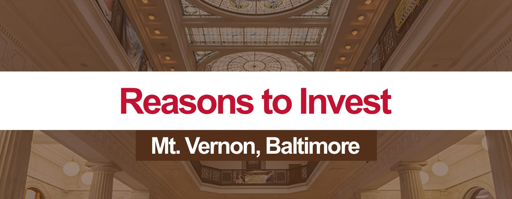 Reasons to Invest in Mt. Vernon
