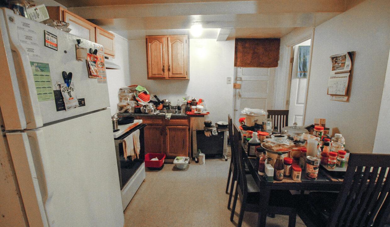 67 unit bsmt kitchen