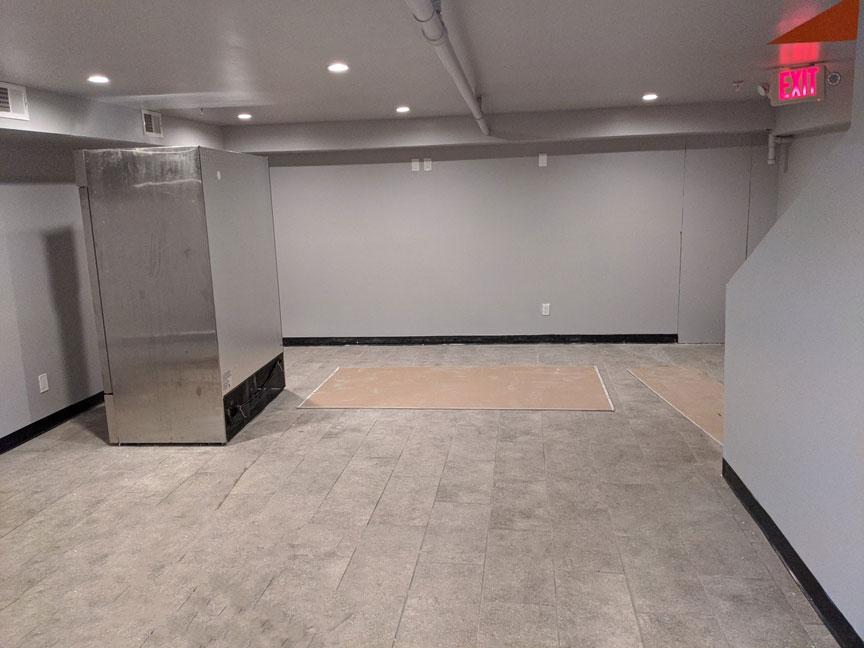 23 Basement Customer Area