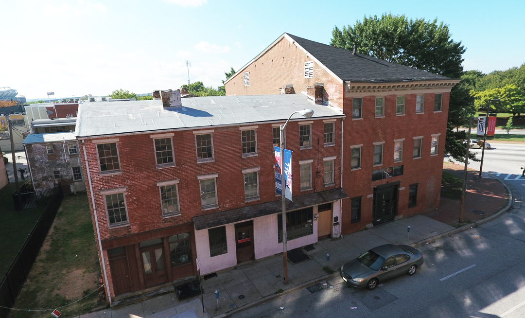 733 West Pratt Street:  Development Renovation Opportunity in Historic Ridgely's Delight