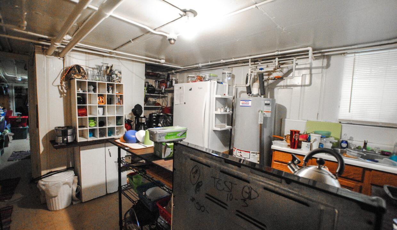 62 basement apt