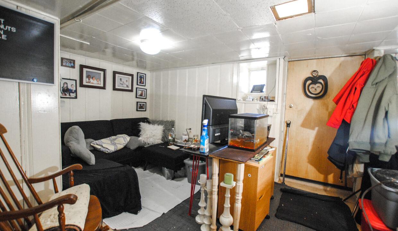 64 basement apt