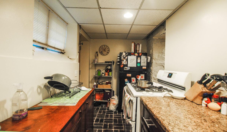 36 apt bsmt kitchen