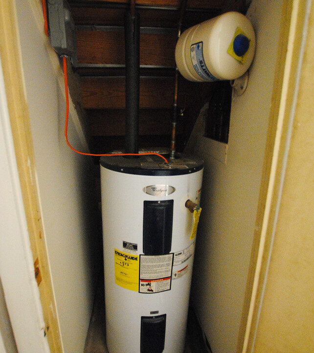 39 apt bsmt water heater