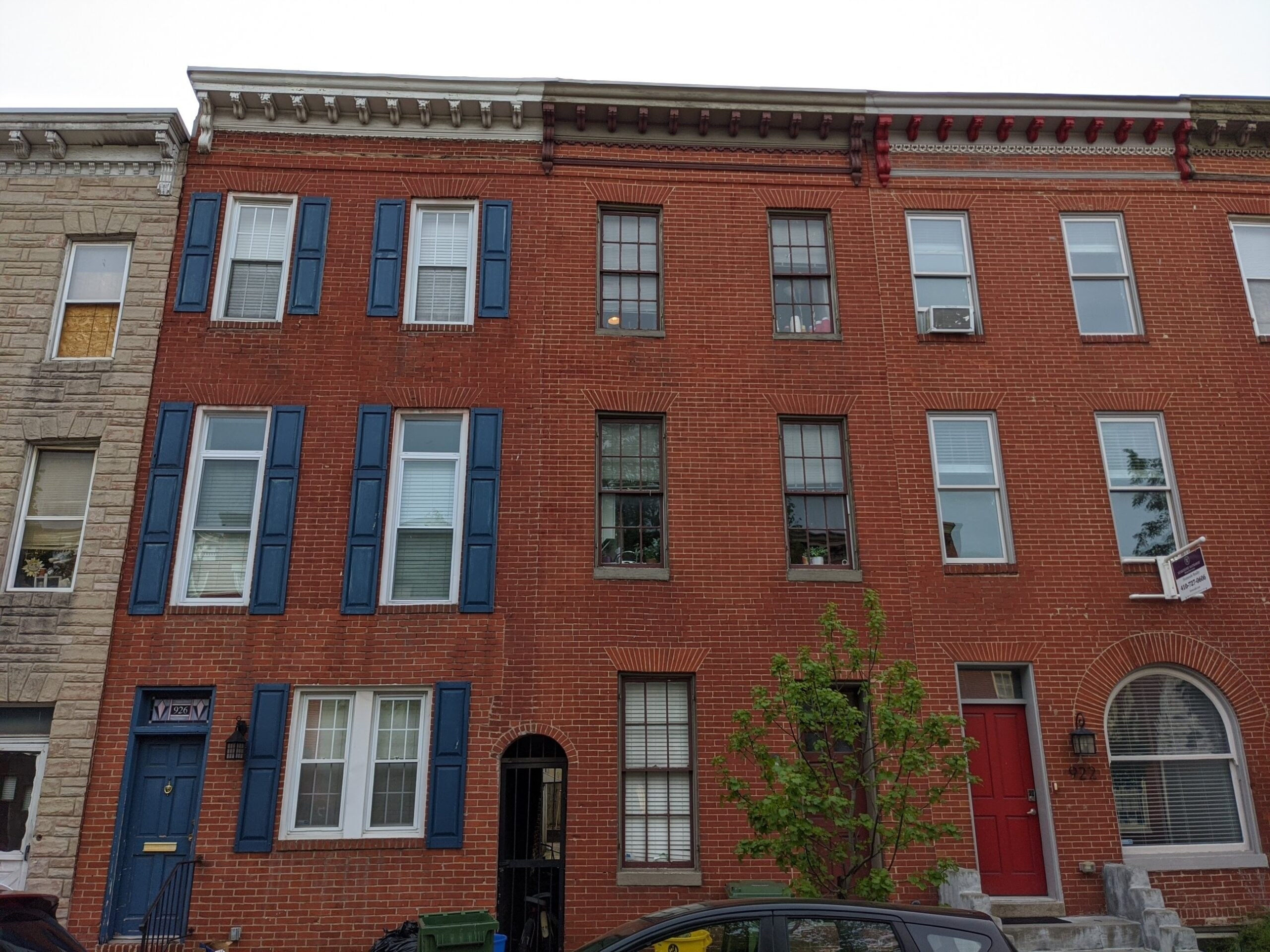 924 S Hanover:  2-Unit Self-Contained in Federal Hill