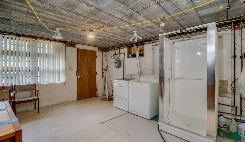27 Basement Laundry Storage scaled