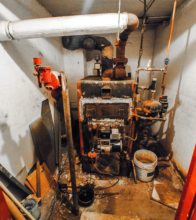 82 disconnected boiler