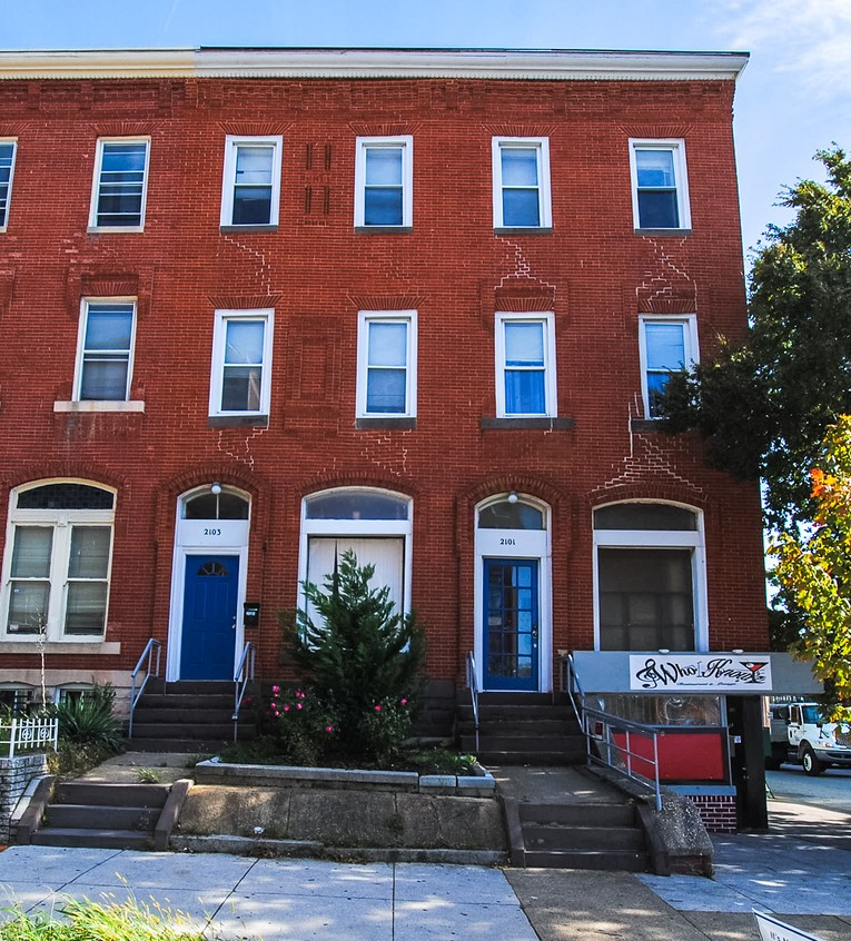2101-2103 Maryland Ave: 2 Restaurants + 5 Apartments in Old Goucher/Charles North