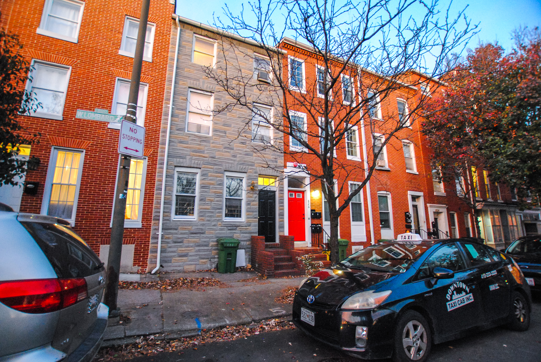 828 West Lombard: 5 Apartments in Hollins Market/ 1 Block from University of Maryland Grad Schools/ Value Add Opportunity