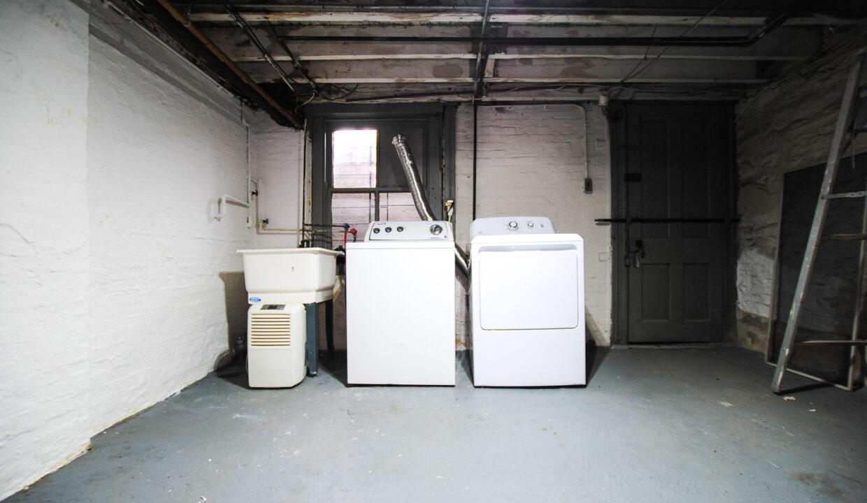 80 basement laundry