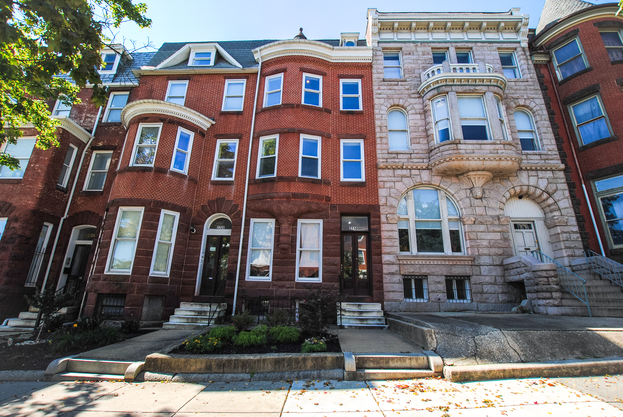 2208 Eutaw Place: 3 Apartments in Reservoir Hill / Gut Rehabbed 2008 / Fully Leased