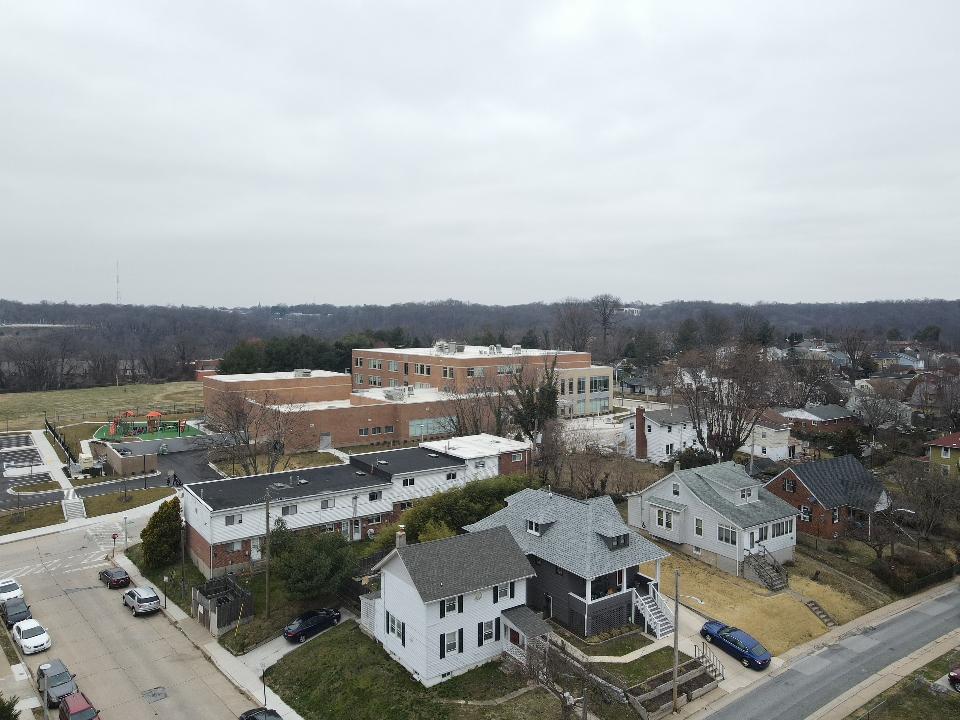 102 View of New School