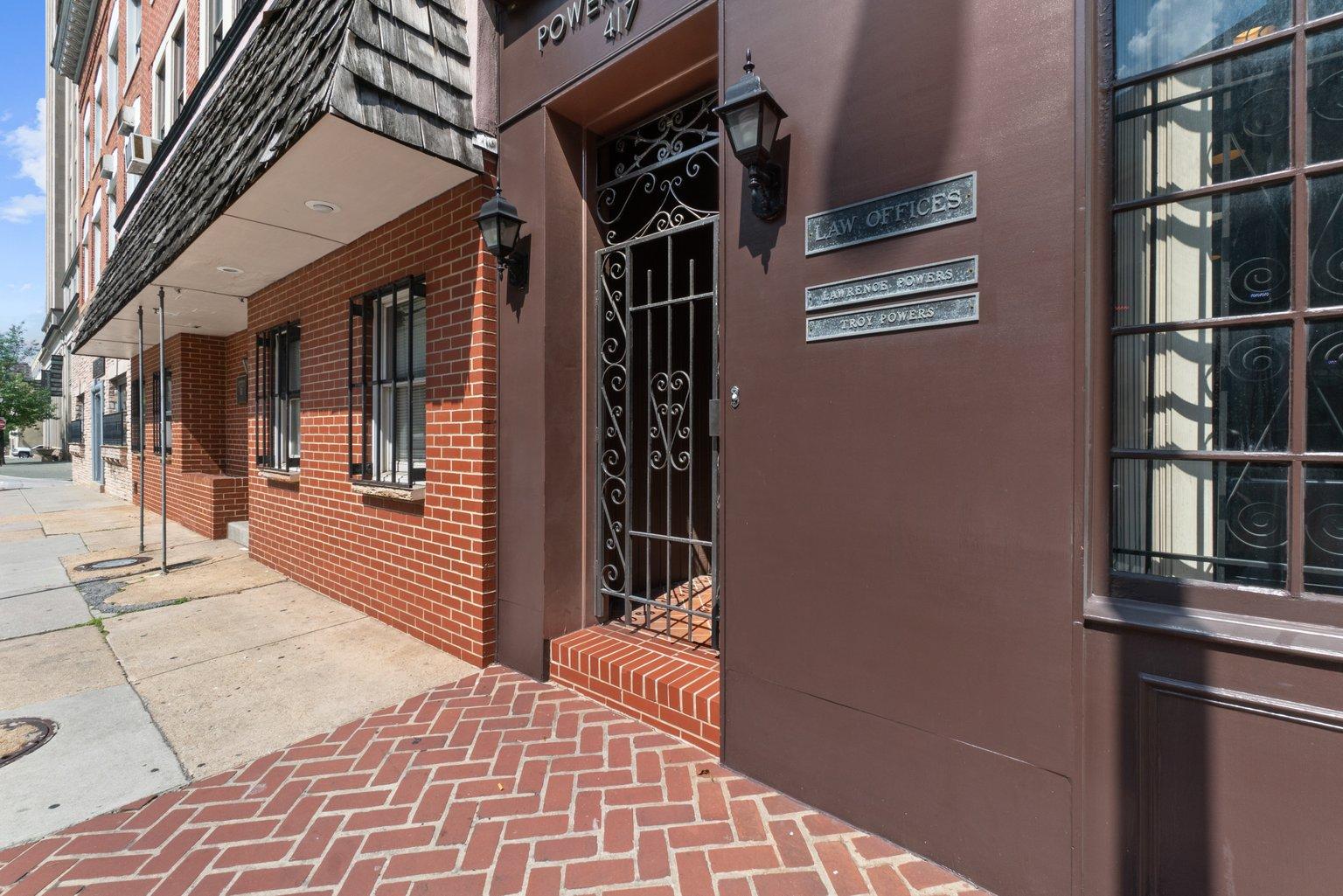 417 Saint Paul Place: 2 Office Suites/3 + Potential Apartments/Zoned C5 – DC