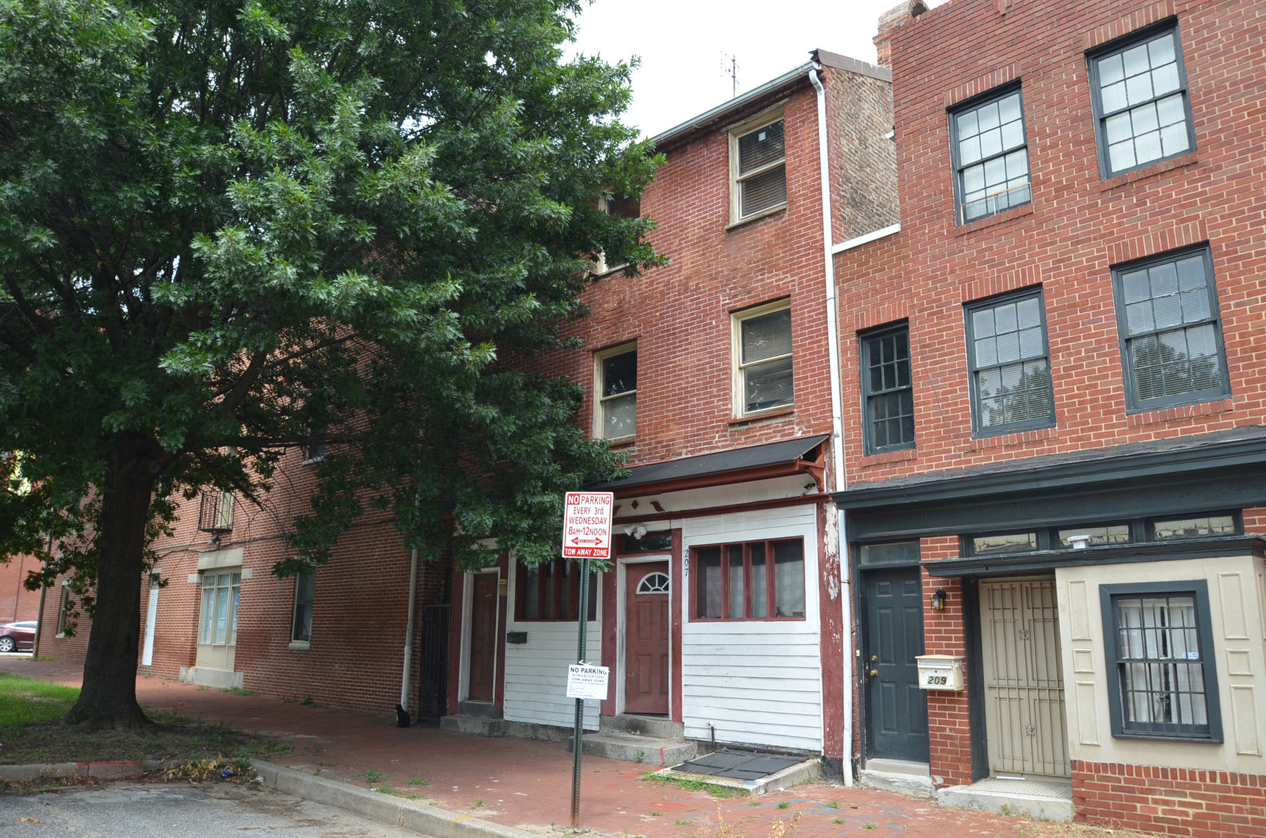 207 South Fremont Avenue: Complete Gut Reno Project in Historic Ridgely's Delight