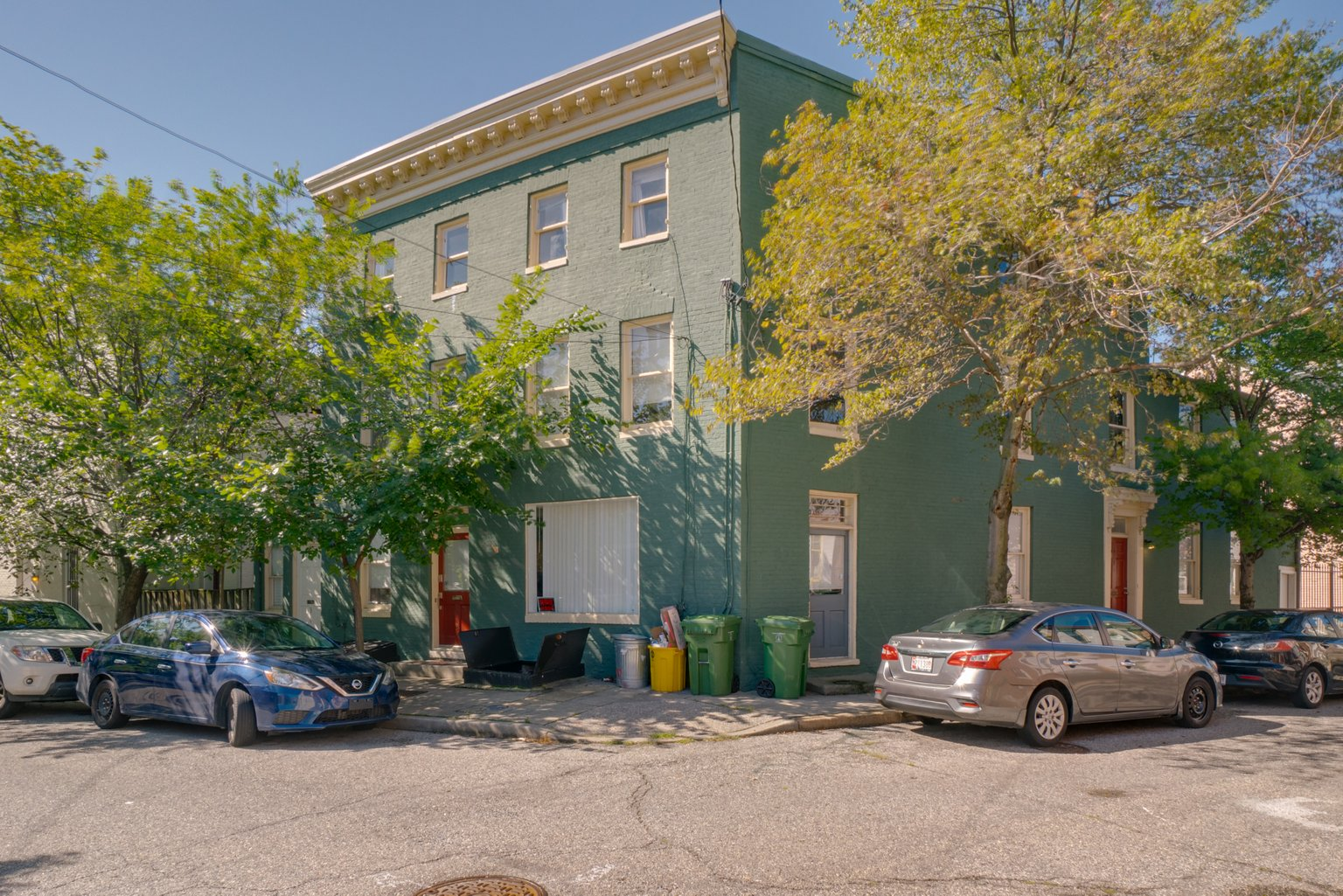 312 Emory Street: 3 Apartments in the heart of Ridgely's Delight / Recently Renovated/ Fully Leased